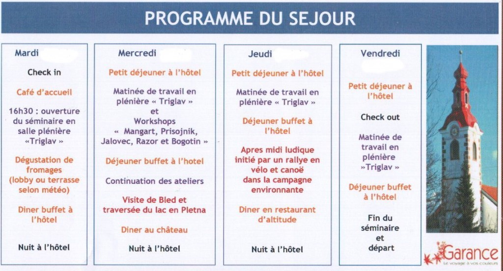 ProgrammeSlovenie