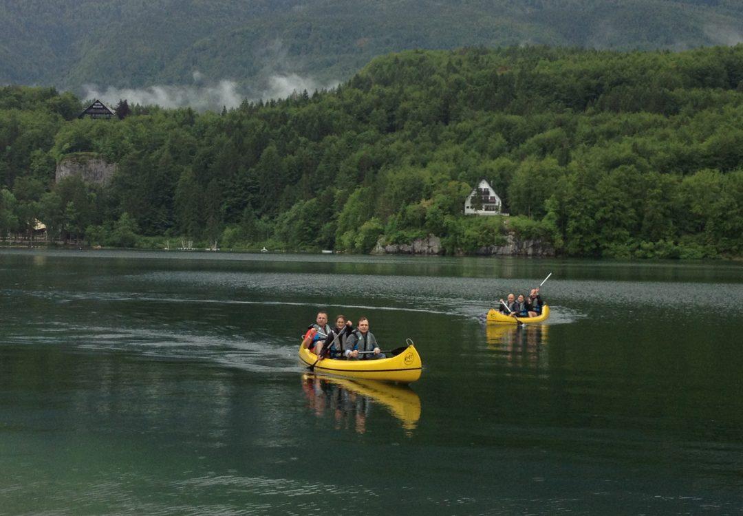 kayak convention Slovénie