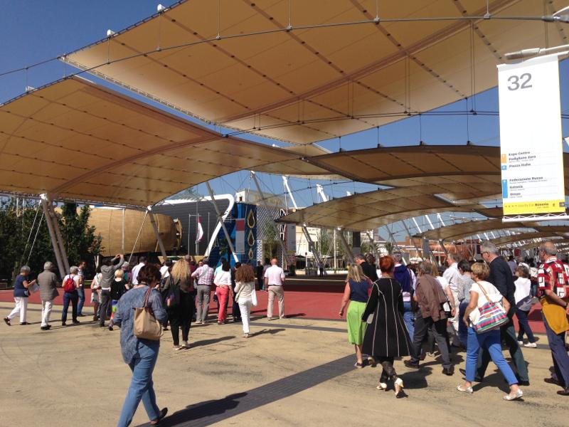 entrée expo universelle