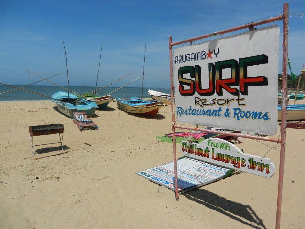 Arugam Bay surf