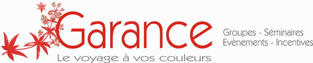voyage business, incentive, team-building marseille, Garance Logo