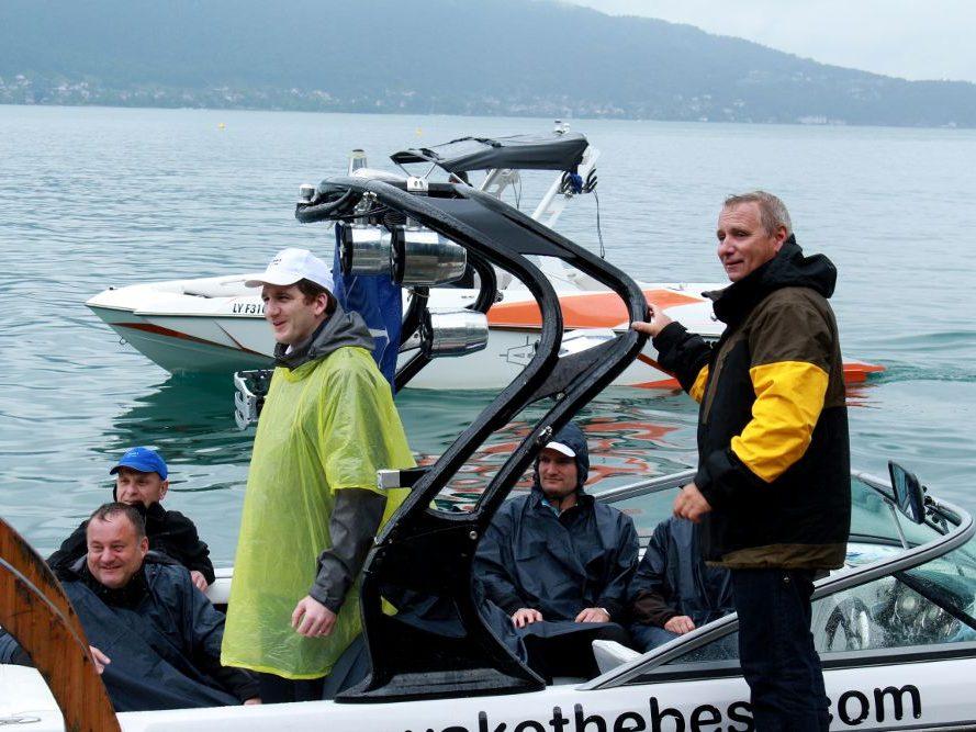 rallye bateau lac annecy